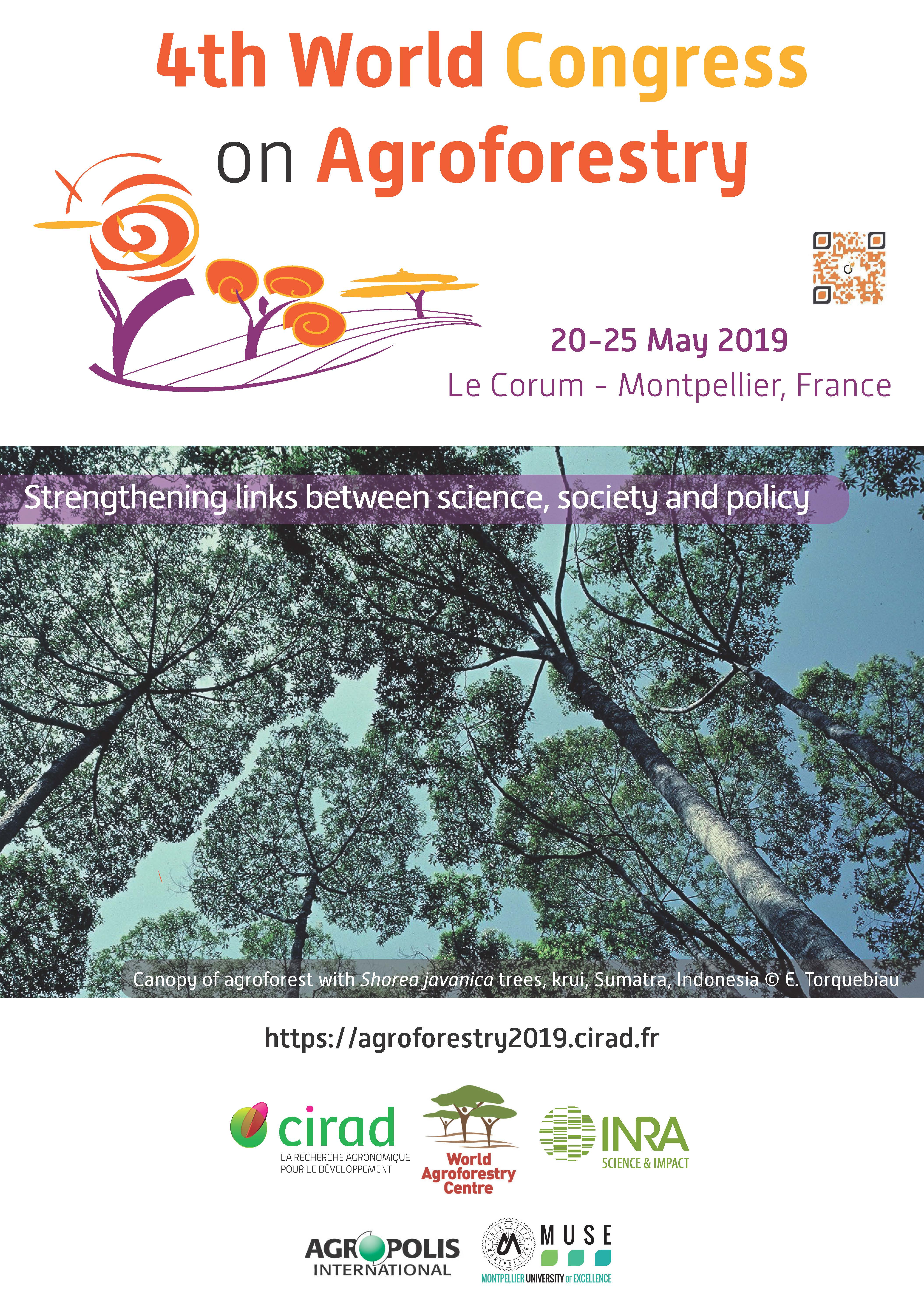 Affiche A3 Agroforestry 2019